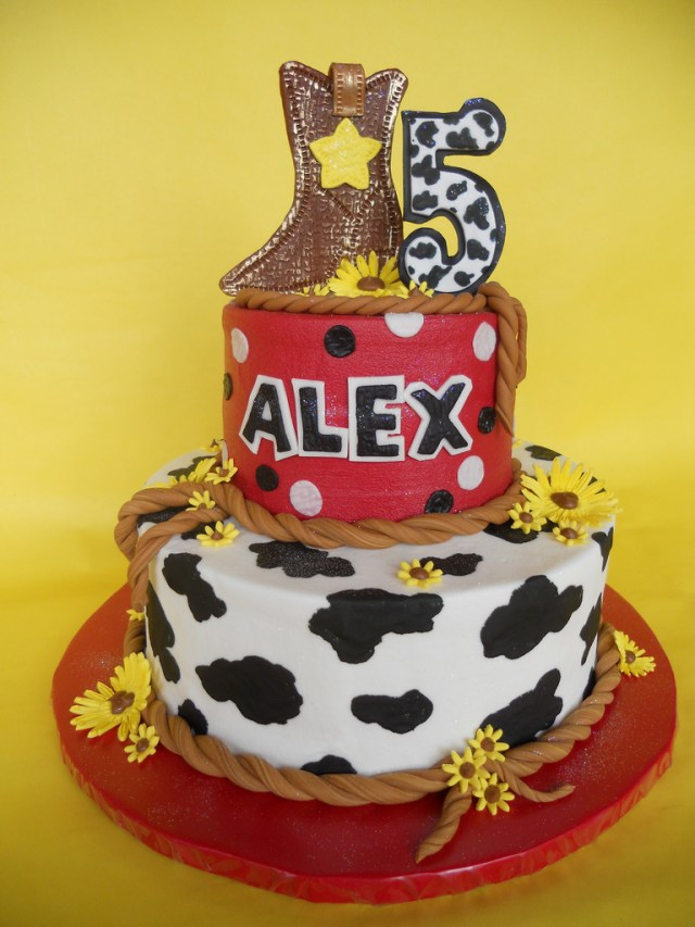 Cowgirl Birthday Cake Cowgirl Birthday Cake Amy Stella Flickr