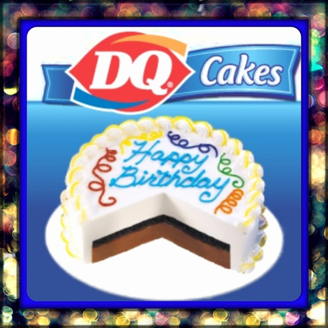 Dairy Queen Birthday Cakes Dq Cake 75 Best Images On Pinterest Deserts