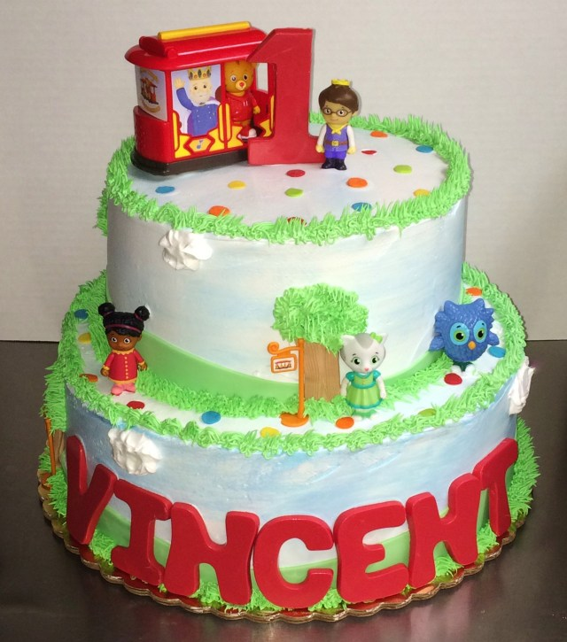 Daniel Tiger Birthday Cake Delicious Creations Party Cakes Specialty Cakes Near Chicago