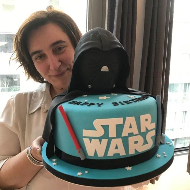 Darth Vader Birthday Cake Star Wars Birthday Cake Patricia Creative Cakes