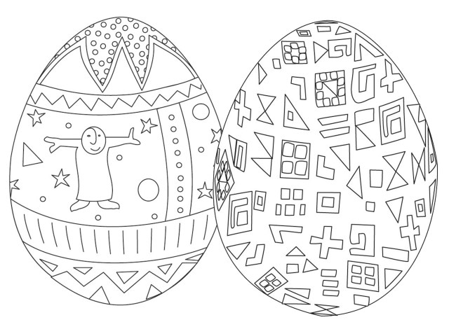 Easter Egg Coloring Page 7 Places For Free Printable Easter Egg Coloring Pages
