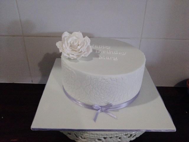 Elegant Birthday Cakes Simple Elegant Birthday Cake Rachel Hayes Flickr