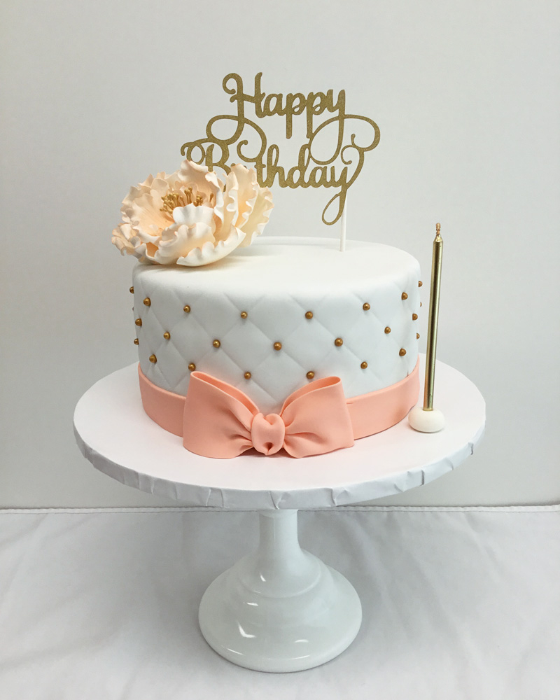 Elegant Birthday Cakes Yummy Yonie Best Custom In Vancouver Bc
