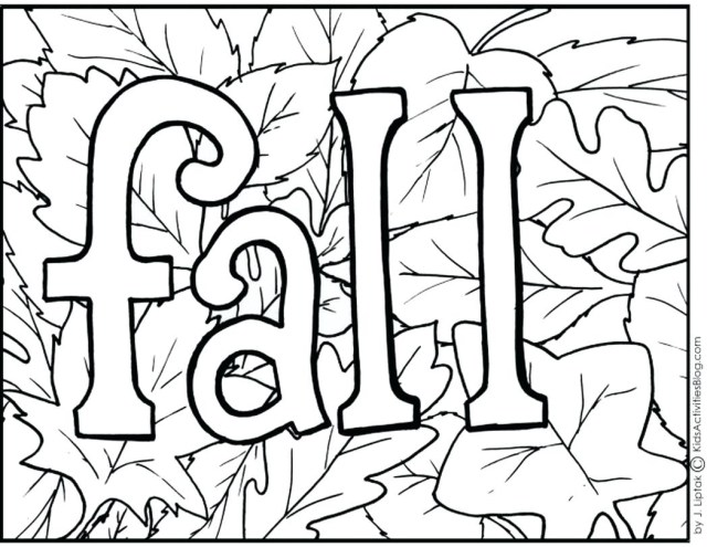 Fall Coloring Pages For Adults Free Fall Coloring Sheets Pages For Adults With Preschool Wuming