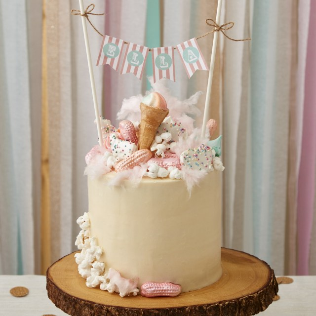 First Birthday Cake Ideas A Whimsical First Birthday
