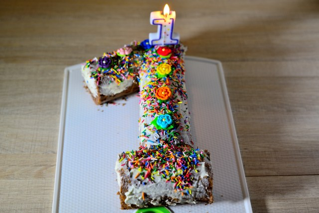 First Birthday Cake Ideas How To Make A First Birthday Cake 5 Steps With Pictures