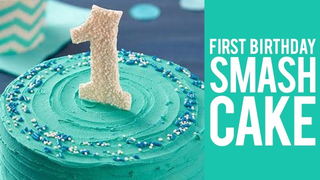 First Birthday Cake Ideas How To Make A First Birthday Smash Cake Youtube