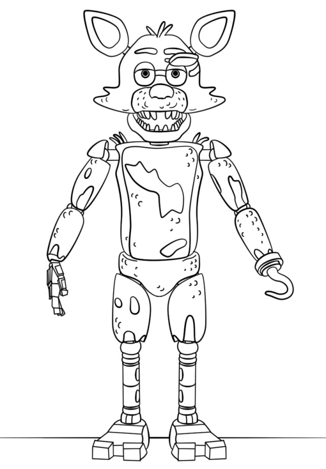 Five Nights At Freddy's Coloring Pages Five Nights At Freddy039s Coloring Pages N2gu Endorsed Five
