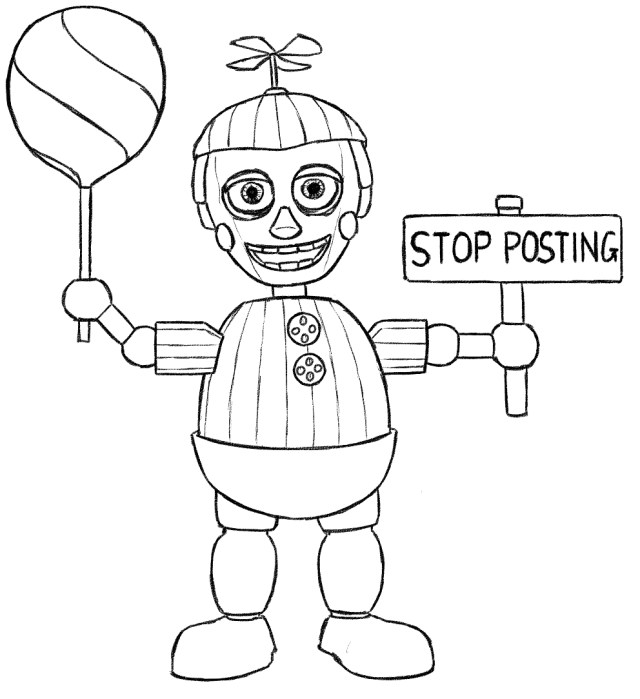 Five Nights At Freddy's Coloring Pages Free Printable Five Nights At Freddys Fnaf Coloring Pages