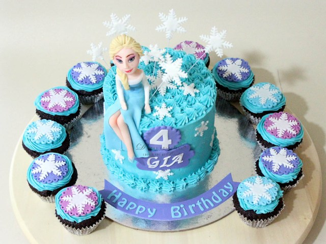 Frozen Themed Birthday Cake Customised Cakes For Girls The Best In Mumbai And Pune