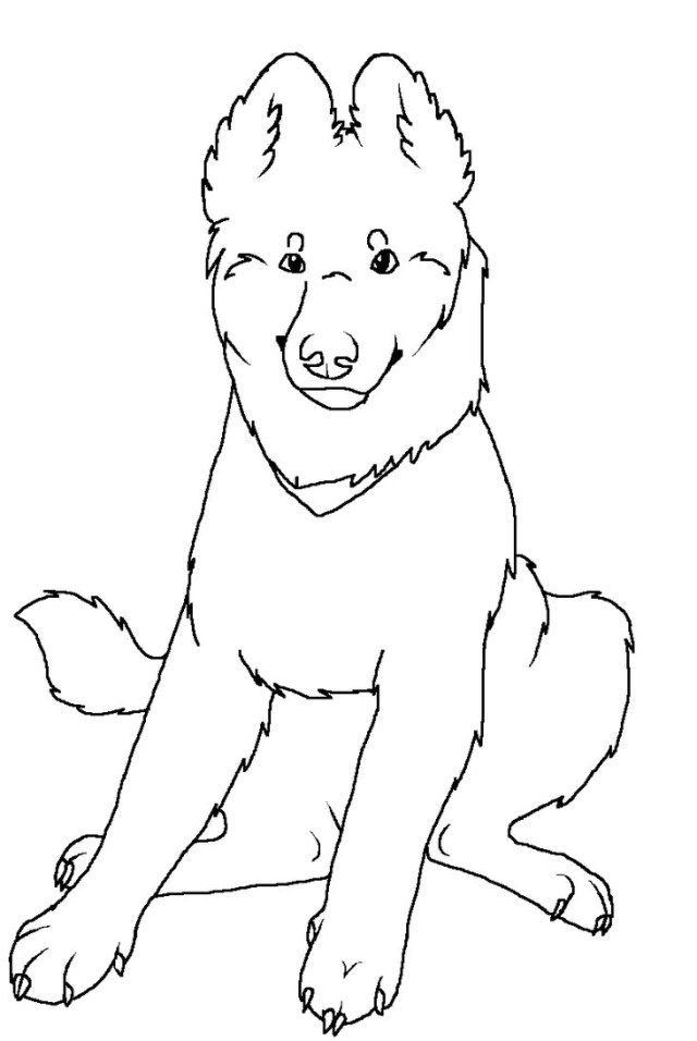 German Shepherd Coloring Pages German Shepherd Coloring Pages Glandigoart