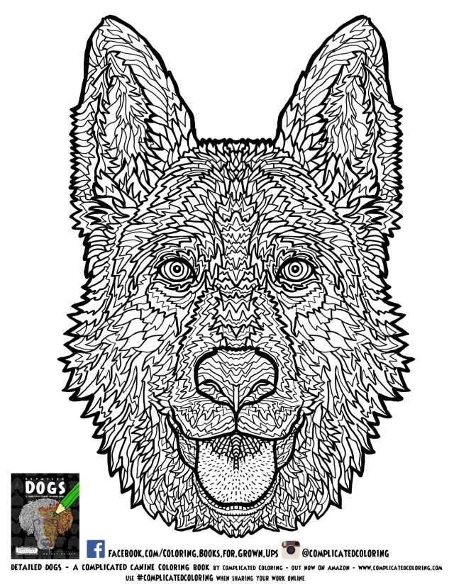 German Shepherd Coloring Pages German Shepherd Coloring Pages Inside Page Ba Boom