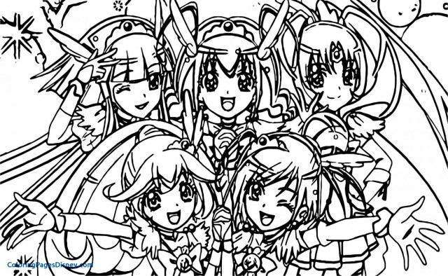 Glitter Force Coloring Pages Glitter Force Coloring Pages Page 131 Smile Precure 6 Bokamosoafrica