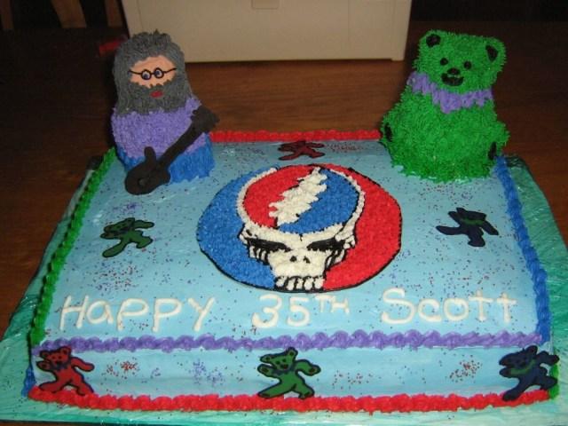 Grateful Dead Birthday Cake Grateful Dead Birthday Cake Cakecentral