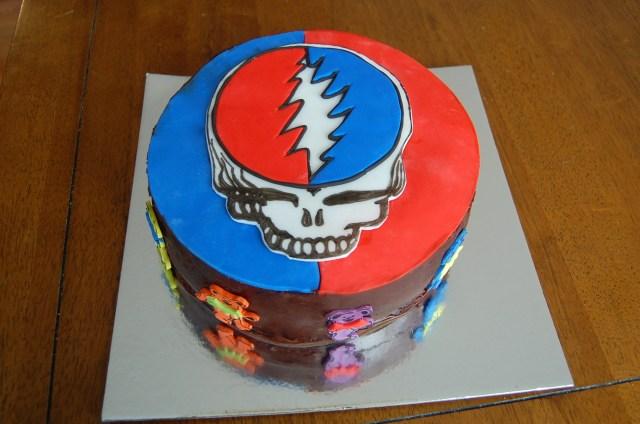 Grateful Dead Birthday Cake Grateful Dead Cake For My Dads Birthday Album On Imgur