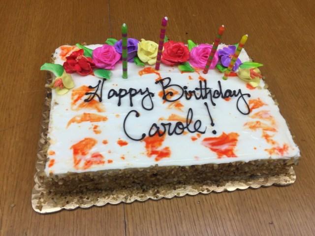 Happy Birthday Carol Cake Goldrich Kest On Twitter Wishing Our President Carole Glodney A