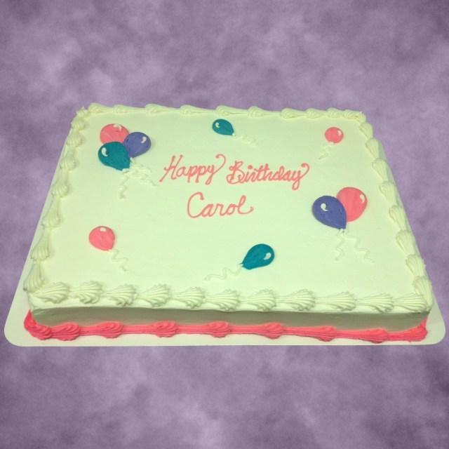 Happy Birthday Carol Cake Happy Birthday Carol Birthday Cakes In 2018 Pinterest