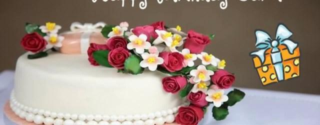 Happy Birthday Carol Cake Happy Birthday Carol Image Wishes Youtube