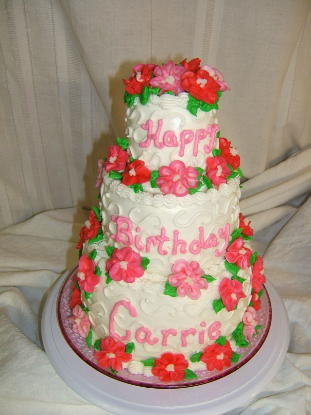 Happy Birthday Debbie Cake Happy Birthday Carrie Cakes Grandma Debbie Pinterest Cake