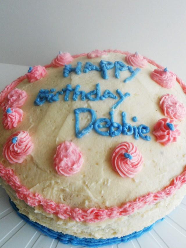 Happy Birthday Debbie Cake Happy Birthday Debbie Cake Cynthia Meixsell Flickr