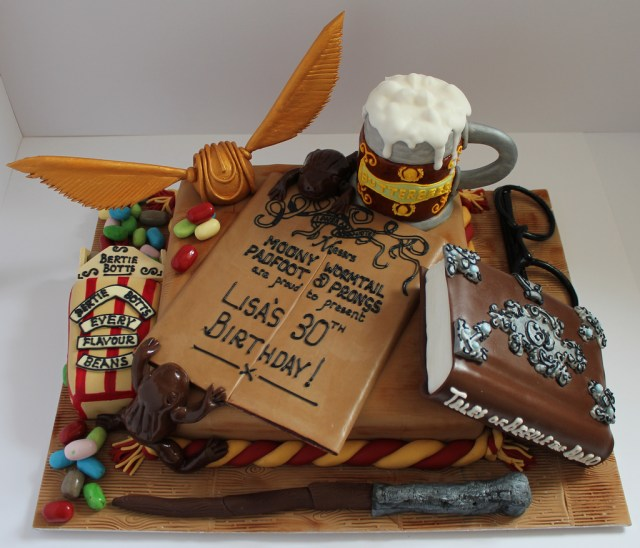 Harry Potter Birthday Cakes Harry Potter Birthday Cake Pauls Creative Cakes Flickr
