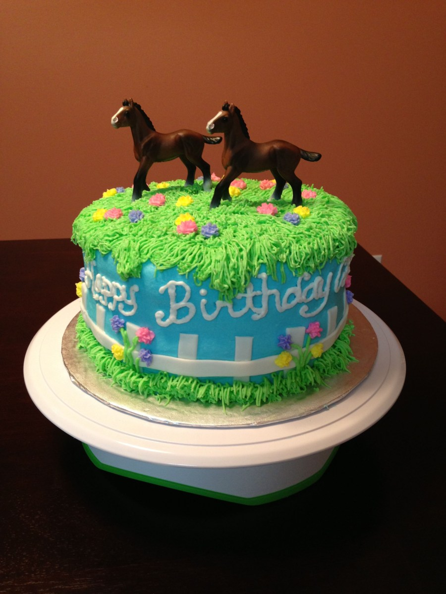23+ Marvelous Photo of Horse Birthday Cakes