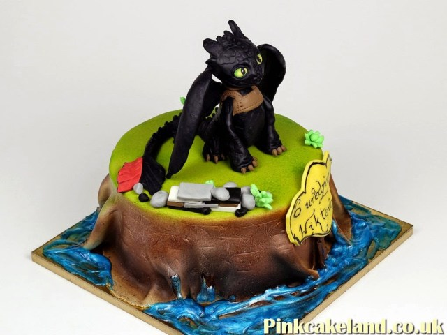How To Train Your Dragon Birthday Cake Birthday Cakes London
