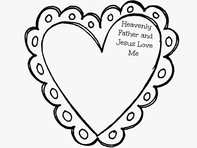 Jesus Loves Me Coloring Page Coloring Pages Jesus Loves Me Coloring Valentine Pages With Page