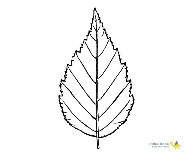 Leaf Coloring Page Leaf Coloring Pages Kiddo