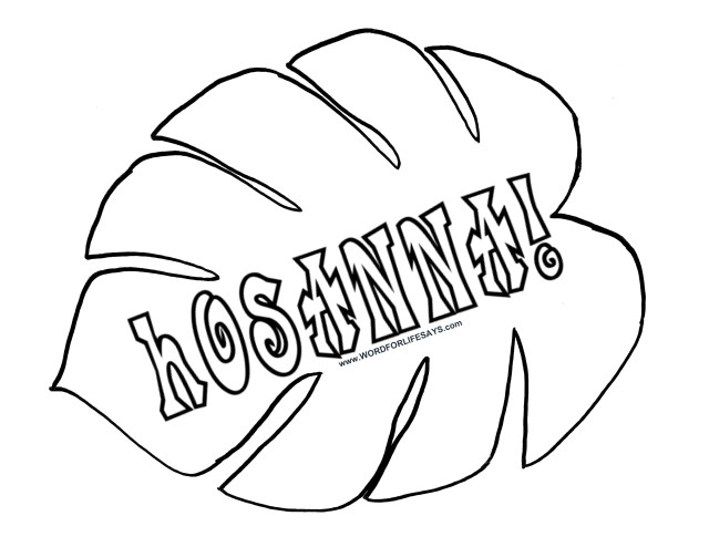 Leaf Coloring Page Palm Leaves Coloring Pages Wuming