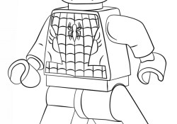 Lego Spiderman Coloring Pages Lego Spiderman Coloring Page Free Printable Coloring Pages