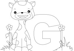 Letter G Coloring Pages Letter G Coloring Page 11 9625 Free Printable Letter G Coloring