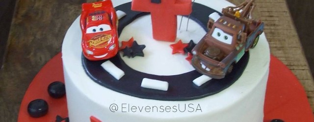 Lightning Mcqueen Birthday Cake Cars Birthday Cake Complete With Lightning Mcqueen And Mater
