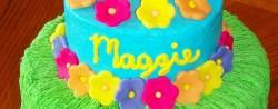 Luau Birthday Cakes Luau Birthday Cakes Maggies Luau Childrens Birthday Cakes