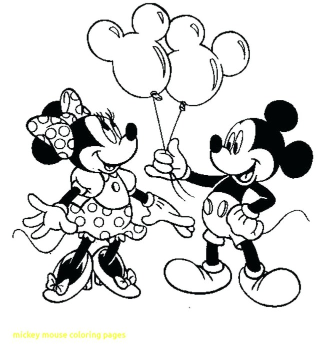 Mickey Coloring Pages Mickey And Minnie Mouse Kissing Coloring Pages At Getdrawings