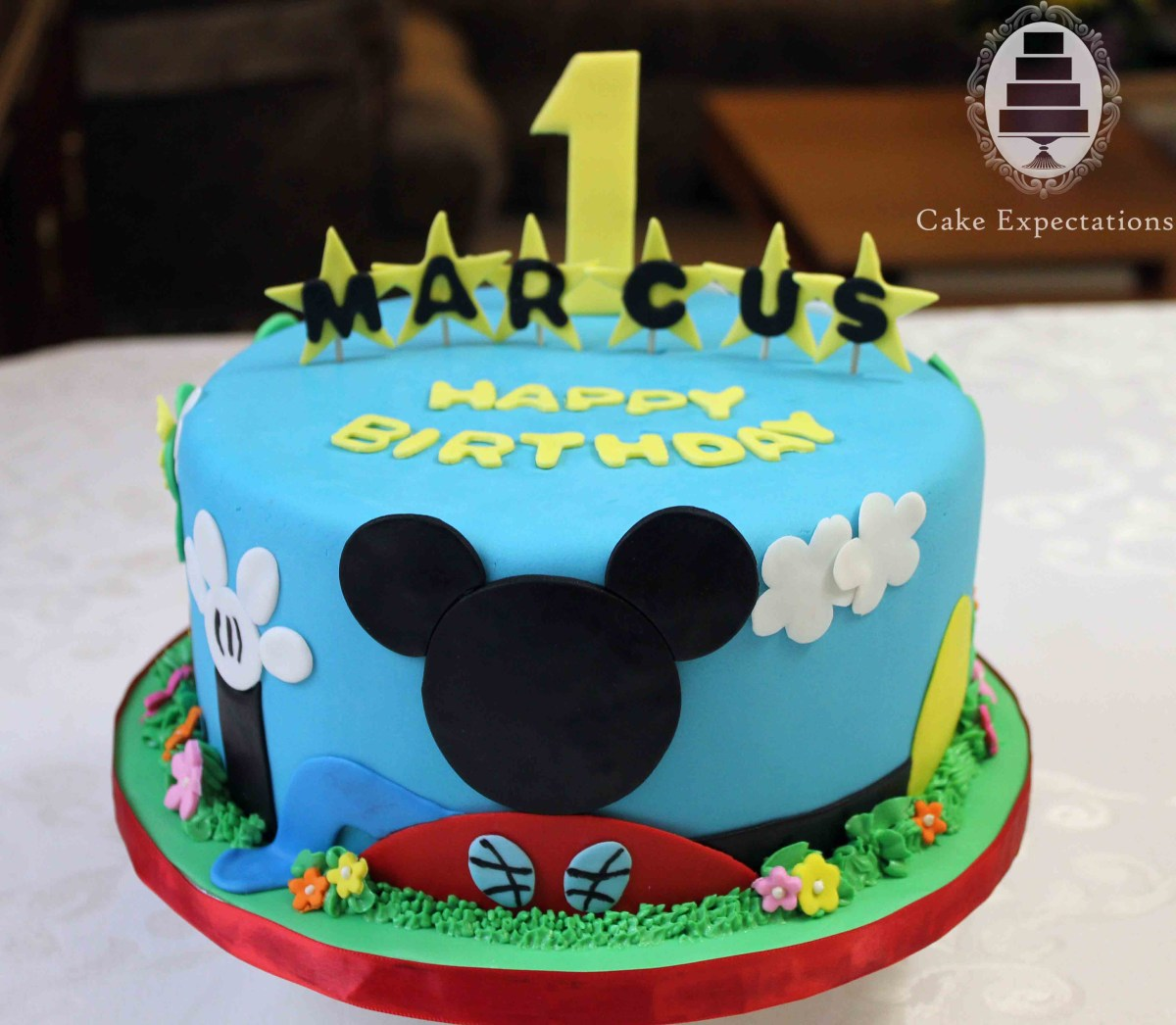 Mickey Mouse Clubhouse Birthday Cake 10 Mickey Mouse Clubhouse Birthday Party Cakes Photo Mickey Mouse