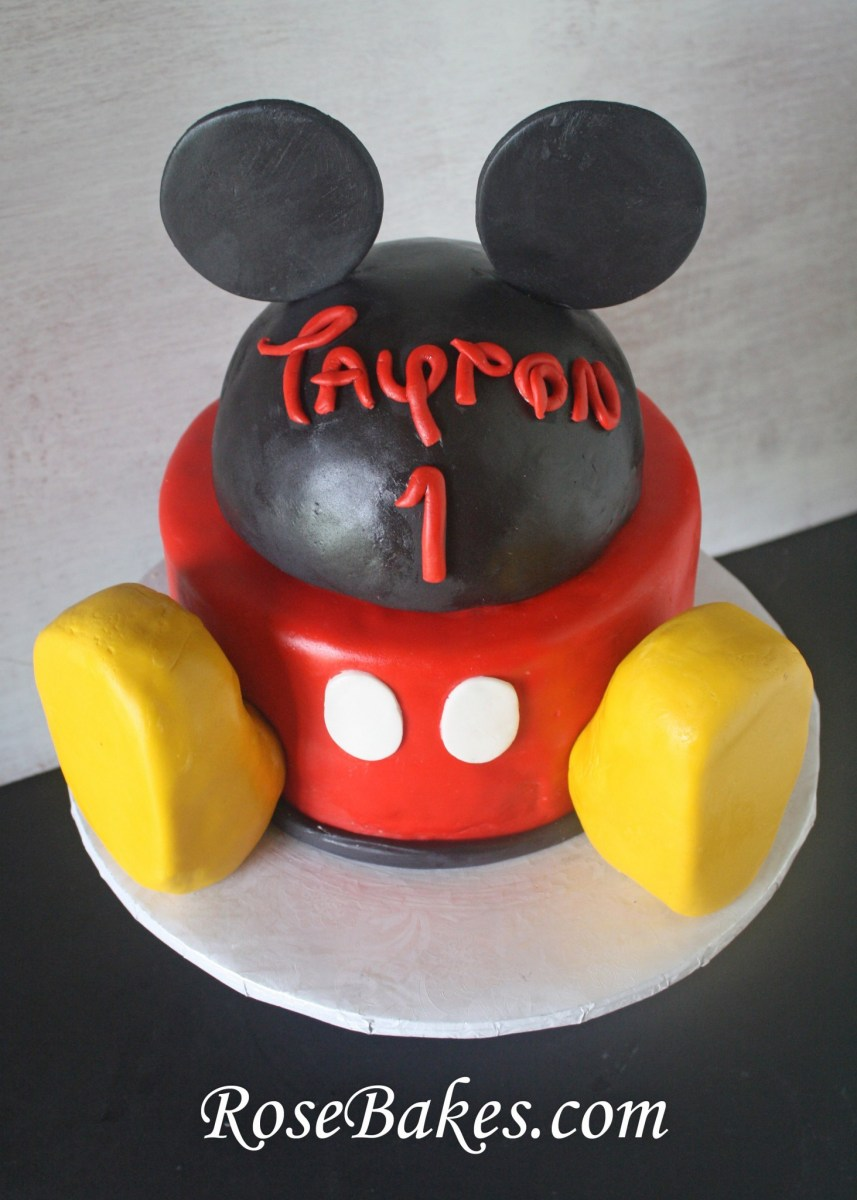 Mickey Mouse Clubhouse Birthday Cake Mickey Mouse Clubhouse Cake