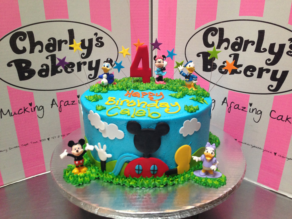 Mickey Mouse Clubhouse Birthday Cake Mickey Mouse Clubhouse Friends Themed 4th Birthday Cake Flickr
