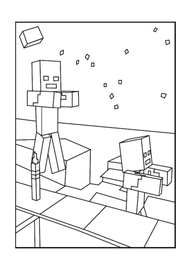 Mine Craft Coloring Pages Minecraft Bow And Arrow Coloring Pages Best Of Best Minecraft