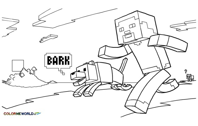 Mine Craft Coloring Pages Minecraft To Download Minecraft Kids Coloring Pages
