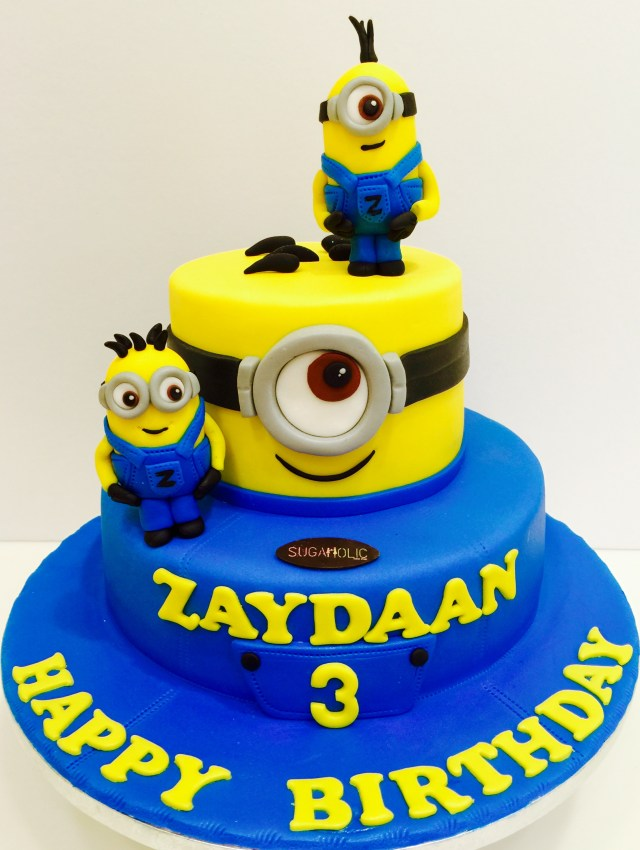 Minion Birthday Cake 12 Minion Cakes For Boys Photo Minion Birthday Cake Minion