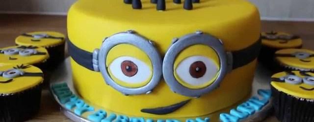Minion Birthday Cake Minion Birthday Cake Youtube
