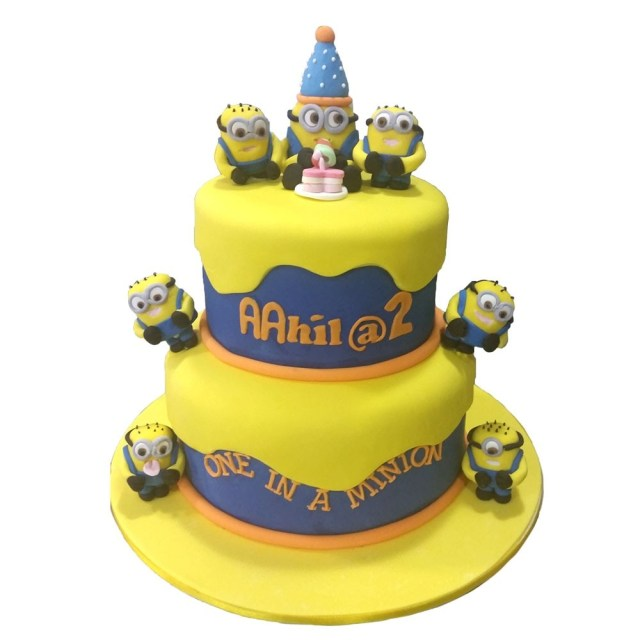Minion Birthday Cake One In A Minion Birthday Cake