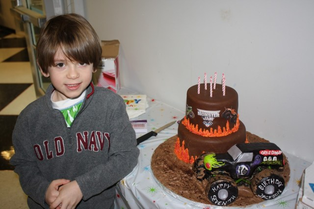 Monster Truck Birthday Cake Grave Digger Monster Truck Birthday Party And Cake Life Cake Whimsy
