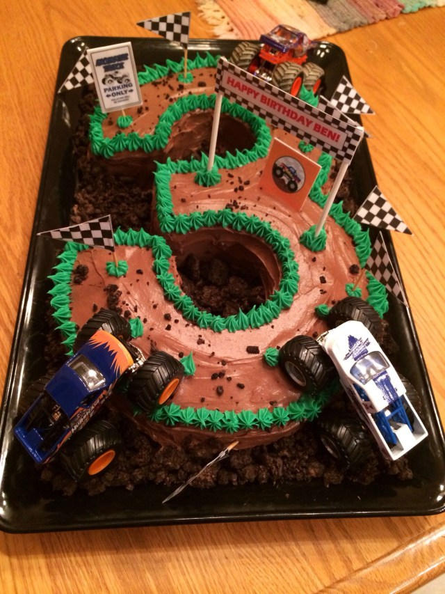 Monster Truck Birthday Cake Monster Truck Cake Made Amy Vol Cakes Monster Truck