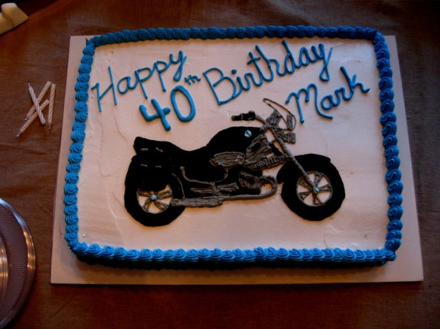 Motorcycle Birthday Cakes Motorcycle Birthday Cake Cakes That Jen Made Pinterest