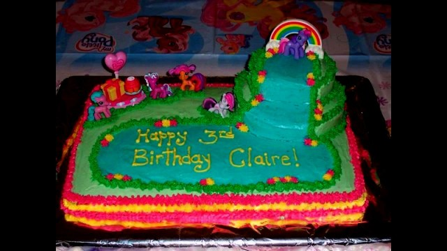 My Little Pony Birthday Cake Ideas My Little Pony Birthday Cake Amusementparktickets