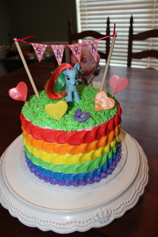 My Little Pony Birthday Cake Ideas My Little Pony Cakes Decoration Ideas Little Birthday Cakes Within