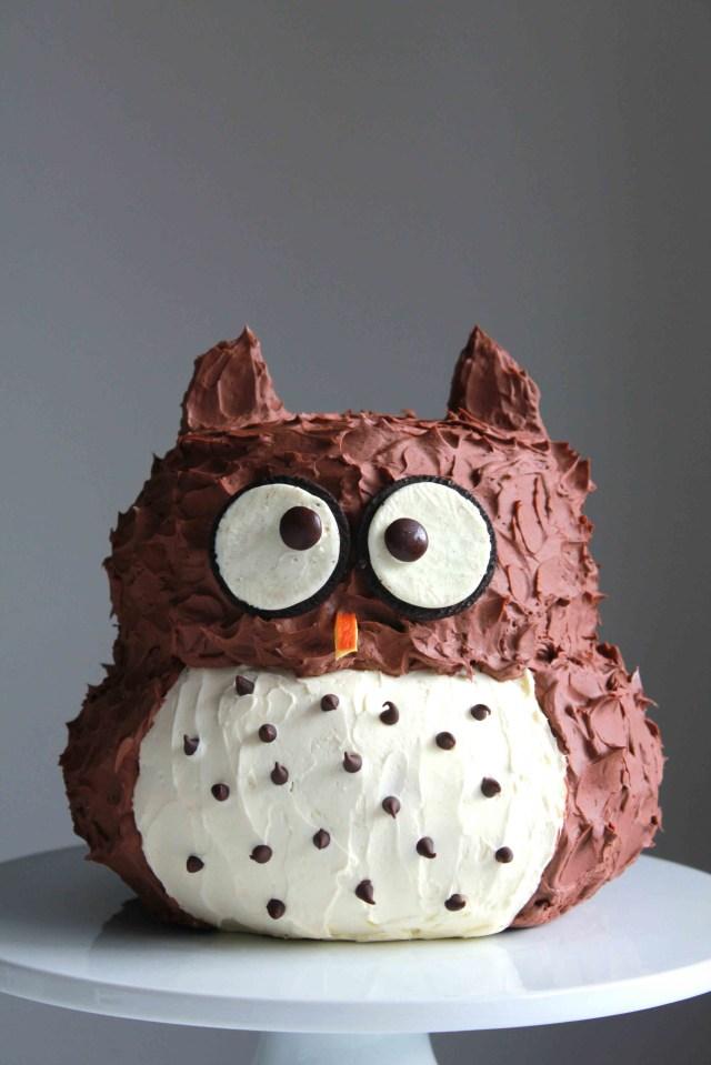 Owl Birthday Cake Charming Friday Links Creating The Perfect Birthday Cake