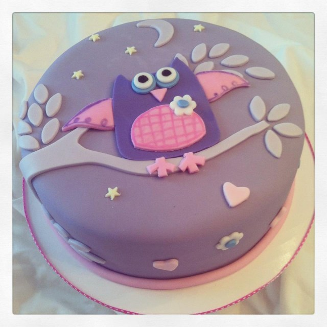 Owl Birthday Cakes Cakes Becky Owl Birthday
